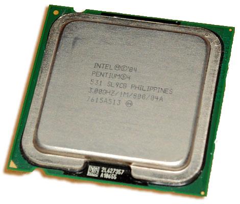 Intel Pentium 4 3.0 GHz 800 MHz 1 MB Socket 775 Processor 531
